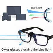 03a9dd8f0f4 Cyxus Blue Light Filter UV Blocking Glasses  Clip On  Anti Eye ...