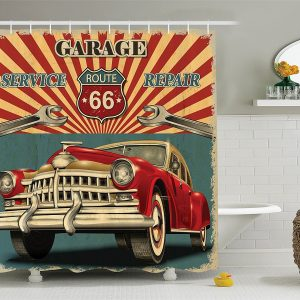 Shower Curtain Set