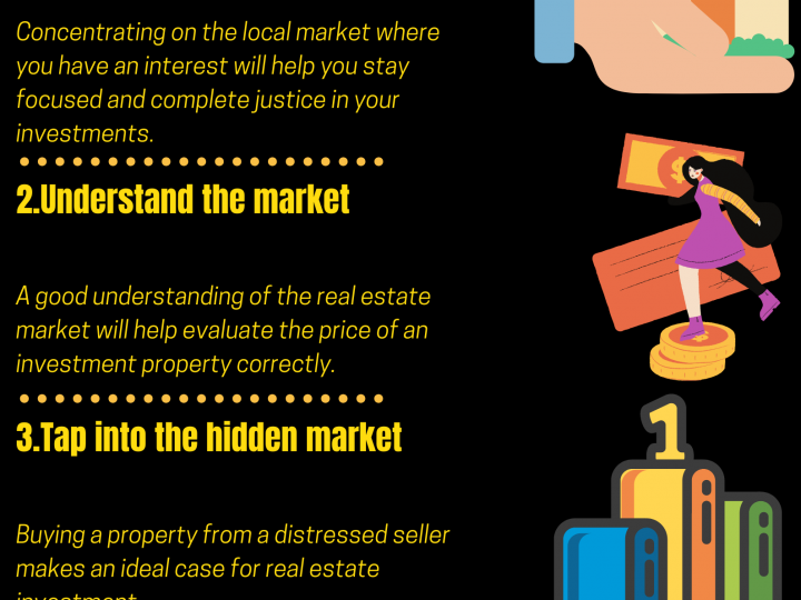 2020 Infographic by Eric Dalius on Tips from Eric Dalius that can drive real estate investors toward success